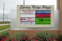 Spring Ridge Plaza Graphics